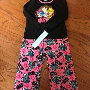 Star Wars pajama set for girl Small